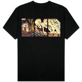Mitsukini Defying the Skeleton Spectre, circa 1845 Skjorte