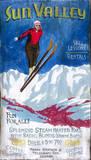 Vintage Ski Wood Sign
