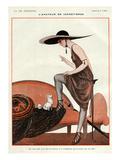 La Vie Parisienne, A Vallee, 1922, France Giclee Print