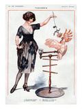 La Vie Parisienne, Cheri Herouard, 1922, France Poster