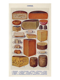 Cheese, Isabella Beeton, UK Giclee Print