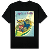 Captain Kitty Shirts