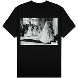 Prince Charles and Princess Diana After Their Wedding at St Pauls Cathedral Shirts