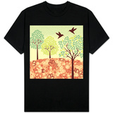 Hazy Day Hummingbirds Shirt