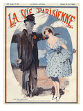 La vie Parisienne, Georges Leonnec, 1920, France Art