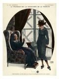 La Vie Parisienne, Georges Leonnec, 1918, France Giclee Print