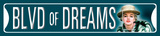 Marilyn Blvd. of Dreams Tin Sign