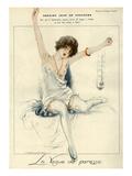 La Vie Parisienne, J Leclerc, 1919, France Giclee Print