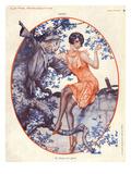 La Vie Parisienne, Herouard, 1930, France Giclee Print
