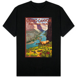 Grand Canyon National Park, Arizona, Deer Scene T-Shirt