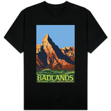 Badlands National Park, South Dakota Camiseta
