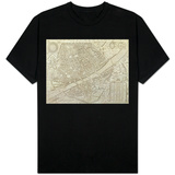 Map of Florence, 1595 Shirt