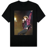 Mick Jagger of the Rolling Stones on Stage at the Isle of Wight Festival Camisetas