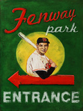 Fenway Park Entrance Wall Sign