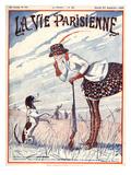 La Vie Parisienne, 1923, France Giclée-tryk