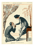 La Vie Parisienne, R Prejelan, 1920, France Giclee Print
