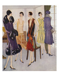 1920s Fashion, 1925, UK Prints