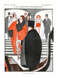 La Vie Parisienne, Jacques Souriau, 1920, France Giclee Print