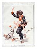 La Vie Parisienne, Cheri Herouard, 1922, France Posters
