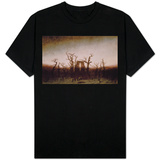 Abbey in the Oakwood, 1810 T-shirts