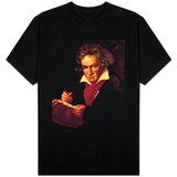 Ludwig Van Beethoven (1770-1827) Composing His &quot;Missa Solemnis&quot; T-shirts