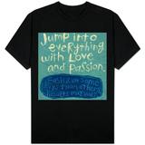 Kjærlighet og lidenskap T-skjorter