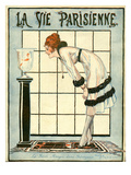 La Vie Parisienne, Rene Vincent, 1918, France Prints
