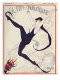 La Vie Parisienne, Georges Leonnec, 1922, France Giclee Print
