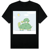 Ride for Baby Turtle T-shirts