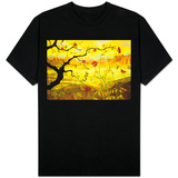 Apple Tree with Red Fruit T-shirts