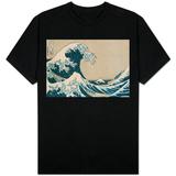 A Grande Onda de Kanagawa, da série 36 vistas do Monte Fuji, Fugaku Sanjuokkei T Shirts