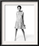 Vogue - March 1967 Framed Photographic Print by Bert Stern
