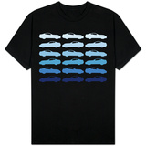 Blue Sportscar T-shirts