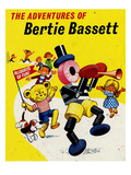 The Adventures of Bertie Bassett, UK Giclee Print
