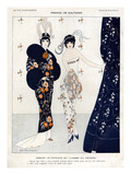 La Vie Parisienne, Brunelleschi, 1912, France Poster