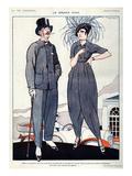 La Vie Parisienne, Fabien Fabiano, 1920, France Giclee Print