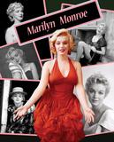 Marilyn Collage Plakietka emaliowana