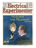 Electrical Experimenter, 1918, USA Giclee Print