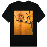 Wood Owl Knots Shirts