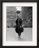 Walking Violin in Philadelphia Mummers&#39; Parade, 1917 Framed Photographic Print by Bettmann 