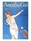 The American Girl, 1928, USA Giclée-tryk