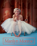 Marilyn Monroe Ballerina Plaque en m&#233;tal