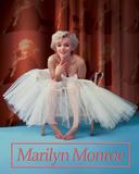 Marilyn Monroe Ballerina Plakietka emaliowana