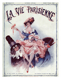 La vie Parisienne, Leo Fontan, 1920, France Prints