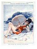 La Vie Parisienne, Maurice Milliere, 1919, France Giclée-Druck