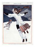 La Vie Parisienne, A Vallee, 1923, France Giclée-tryk