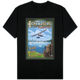Lake Union Float Plane, Seattle, Washington T-shirts