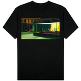 Edward Hopper - Nighthawks Tshirt