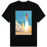 Kennedy Space Center, Cape Canaveral, Florida T-shirts