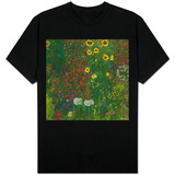 Garden with Sunflowers, 1905-6 T-shirts